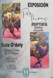Sala O´Daly: örtliche Künstler stellen aus.