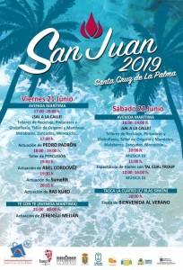 Santa Cruy: San Juan-Programm.
