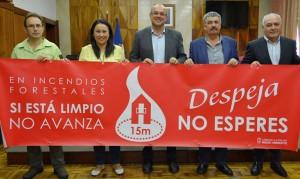 Motto 2019: Nicht zögern, jetzt den Garten von trockenen Pflanzen und Abfall befreien! Foto: Cabildo