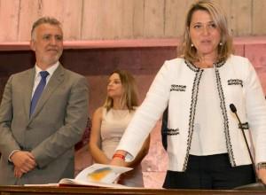 Der neue Kanarenpräsident Ángel Víctor Torres hat Alicia Vanoostende in sein Kabinett aufgenommen: Die Ex-Tourismusrätin von La Palma arbeitet nun als Ministerin für den Primärsektor.