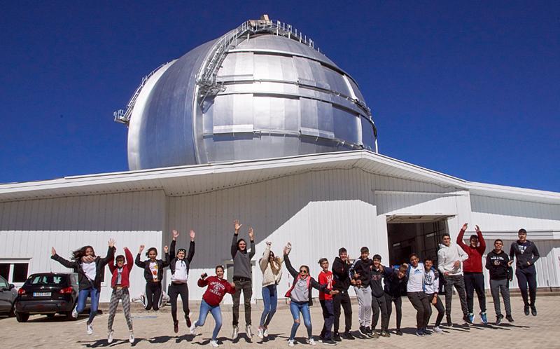 Astronomie für junge Leute: Im