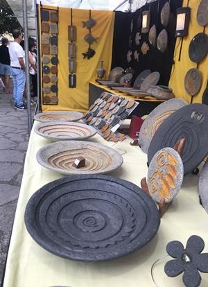 Inselkunsthandwerkermesse: Schönes von KönnerInnen dieses Jahr in Garafía.