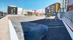 Neuer Parkplatz
