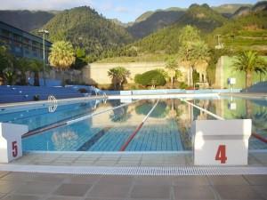 Im Sommer offen: Miraflors-Schwimmbad. Foto: Cabildo