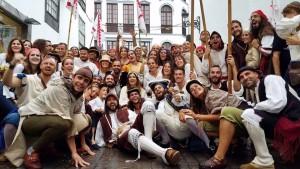 Día del Corsario: Spektakel in den Gassen von Santa Cruz.