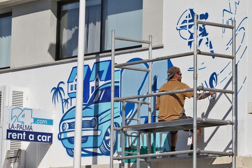 La Palma 24 Graffiti