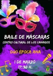 Maskenball in Los Canarios