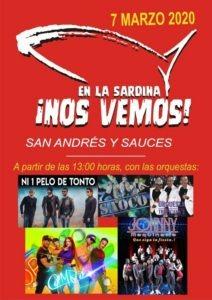Karneval 2020: Beerdigung der Sardine - San Andrés