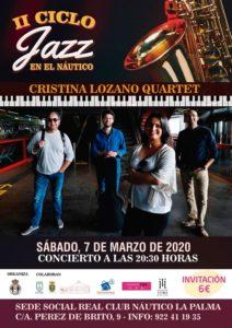 Jazz: Cristina Lozano Quartet