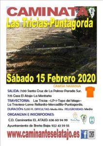Wanderung Las Tricias - Puntagorda