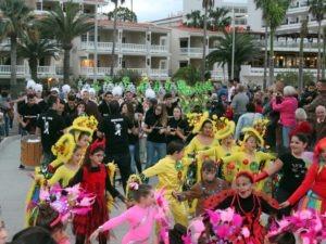 Karneval 2020: Karnevalsumzug in Puerto Naos