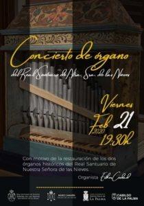 Orgelkonzert Las Nieves - Esther Ciudad