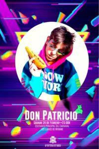 Live-Auftritt von Don Patricio