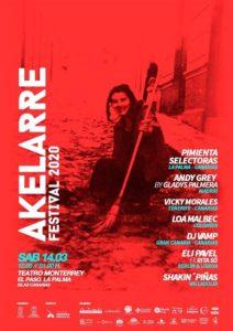 Akelarre Festival 2020 - El Paso