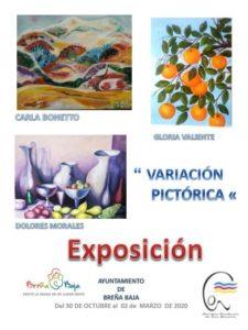 Ausstellung Malerei in Breña Baja