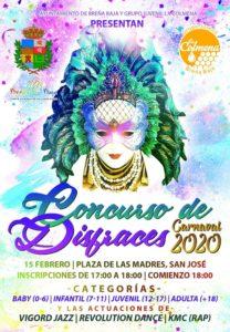 Karneval: Kostümwettbewerb San José