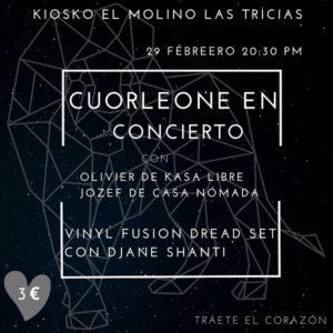 Cuorleone in concert - Las Tricias