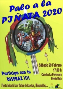 """Palo a la Piñata"" - Kinderfest Breña Baja"