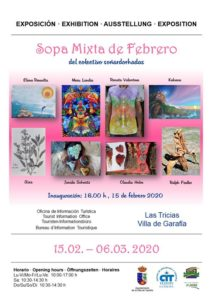 "Kunstausstellung ""sopa mixto de febrero"""