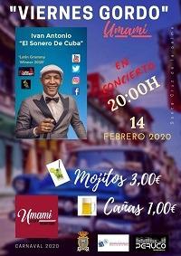"""Ivan Antonio """"El Sonero De Cuba"""" in concert"""