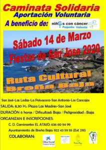Solidarity Walk Kulturroute Breña Baja