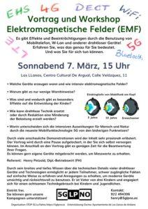 Vortrag / Workshop EMF (elektromegnetische Felder)