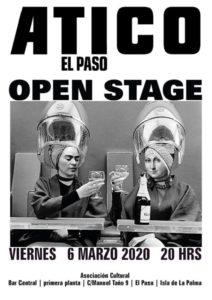 Open Stage im Atico