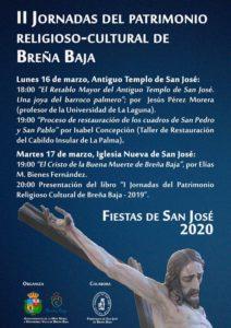 II. Tage des religiös-kulturellen Erbes von Breña Baja-Gestrichen!