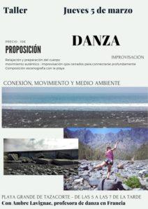Improvisations-Tanz-Workshop am Strand