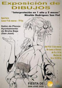 Ausstellungseröffnung: Zeichnungen von Nicolás Rodríguez San Fiel