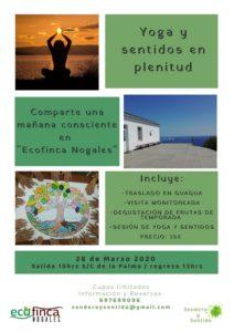 Yoga-Vormittag Ecofinca Nogales-Gestrichen!