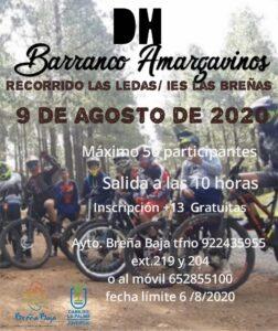 """Abfahrt """"Barranco de Amargavinos"""""""
