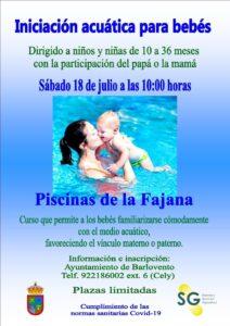 Babyschwimmkurs Piscinas de la Fajana