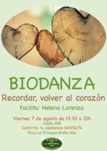 Biodanza in der Finca La Principal