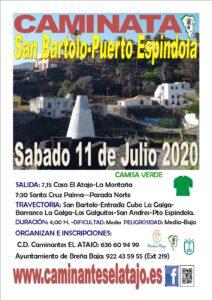 Wanderung von San Bartolo nach Puerto Espindola
