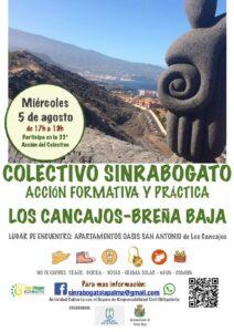 Freiwilligenaktion zur Entfernung des Rabogato in Breña Baja