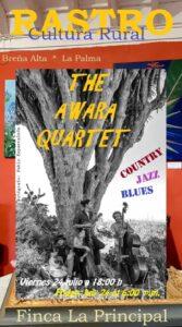 "Livemusik ""The Awara Quartet"""