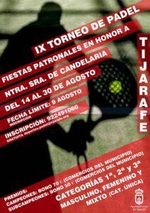 IX Padel Turnier in Tijarafe