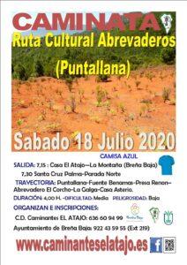 Wanderung Ruta Cultural Abrevaderos (Puntallana)