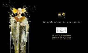 """Ausstellung """"Deconstrucción de una Geisha"""""""