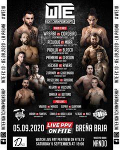 WTW Fight Championship in Breña Baja