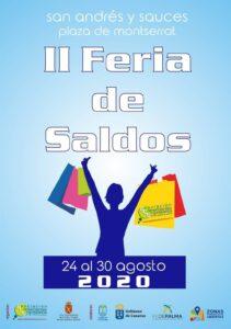 II Feria de Saldos de San Andrés y Sauces