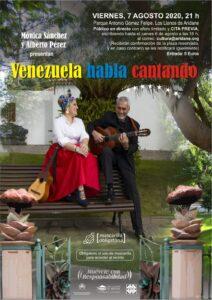 Konzert Mónica Sánchez y Alberto Pérez