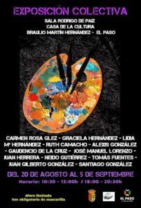 Kunstausstellung im Sala Rodrigo de Paiz