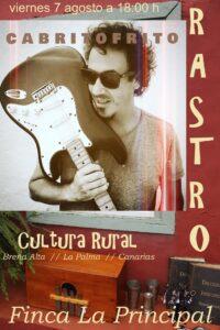 Livemusik mit Cabritofrito in der Finca La Principal