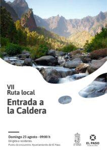 VII Ruta Local – Entrada a la Caldera