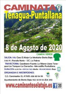 Wanderung Tenagua - Puntallana