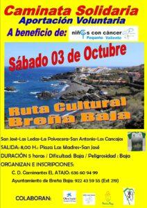 Wanderung Ruta Cultural Breña Baja