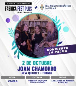 Konzert Joan Chamorro