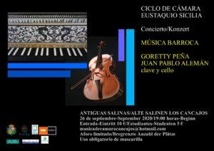 """Konzert """"Sexta Edición del Ciclo de Cámara """"Eustaquio Sicilia"""""""